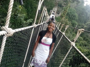 Peace on Canopy Walk at Kakum National Park