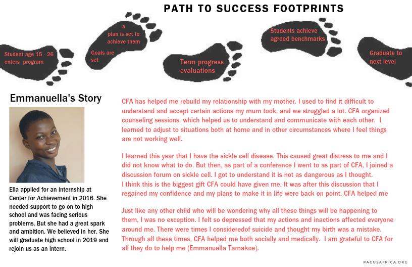 Emmanuella's path